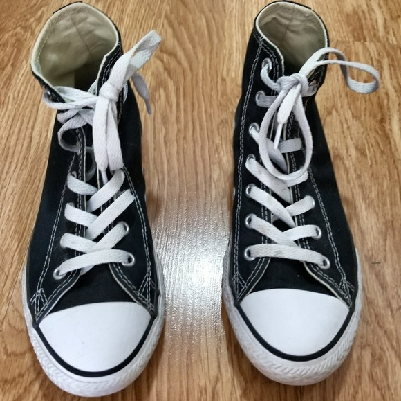 d897ba16f8e4 Converse Other - Girls Converse High Tops size 3 kids 5 adult